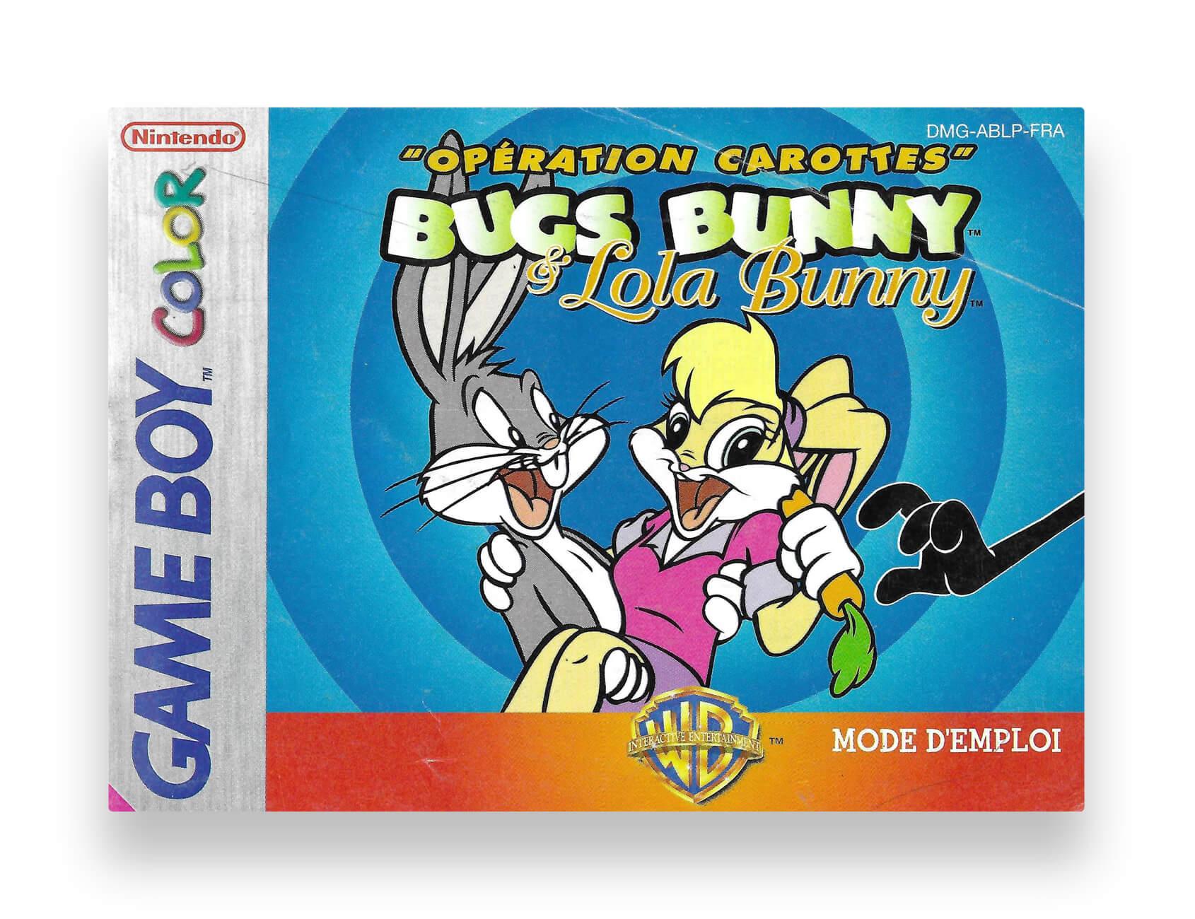 """Bugs Bunny & Lola Bunny """"Opération Carottes"""""""