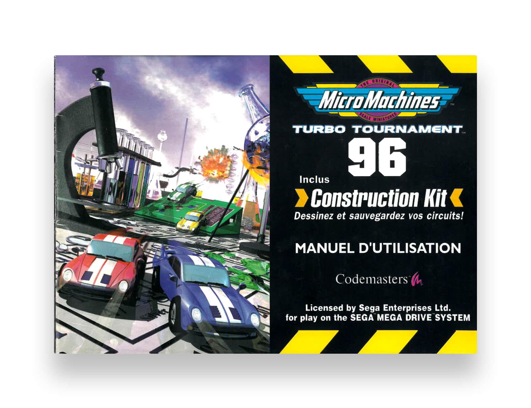 Micro Machines 96 Turbo Tournament