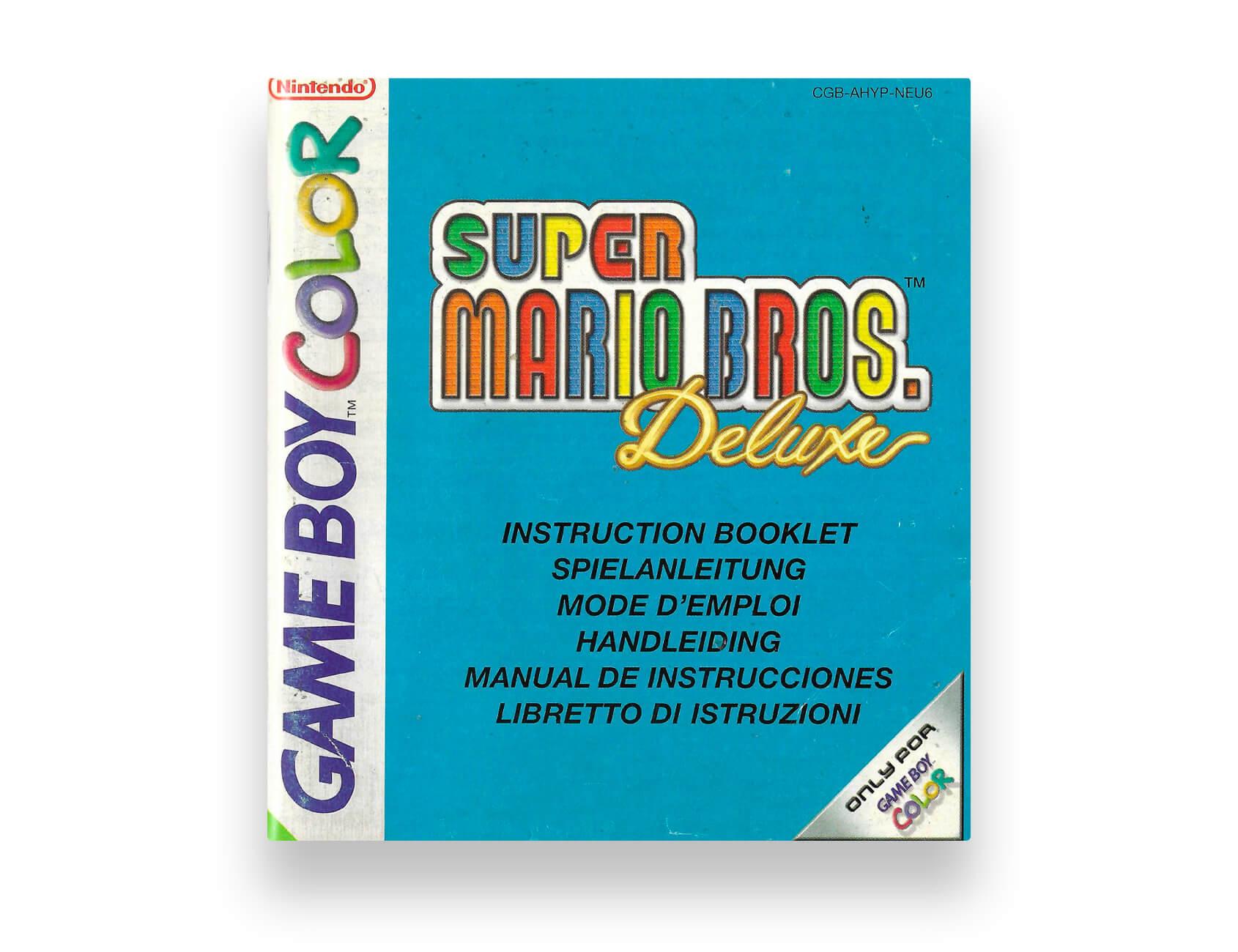 Super Mario Bros. Deluxe