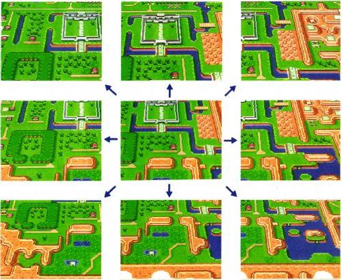Boutons-Map-2-Eclair-Legend-Of-Zelda-Link-to-the-Past_SNES_Nintendo_Notipix