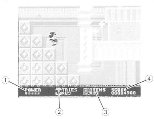 Statut-Screen-Castle-of-Illusion-Sega-Mega-Drive-Notipix